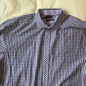 Ted Baker Endurance dress shirt - 17.5 French-Cuff
